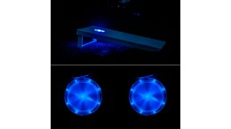 Cornhole Lights - Blue
