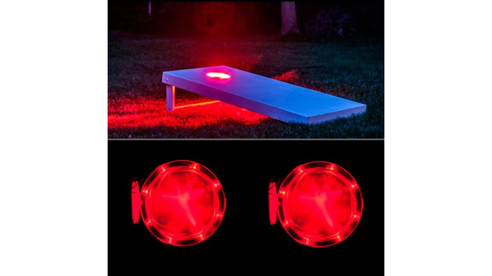 Cornhole Lights - Red
