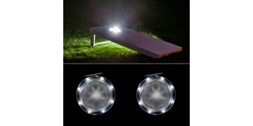 Cornhole Lights - White