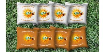 The Sun & Sands - 8 Cornhole Bags