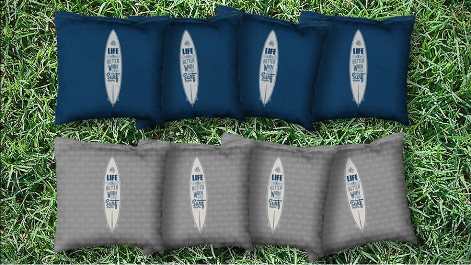 The Surf Lifes - 8 Cornhole Bags