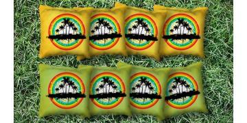 The Tropical Paradises - 8 Cornhole Bags