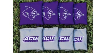 Abilene Christian University Cornhole Bags - set of 8