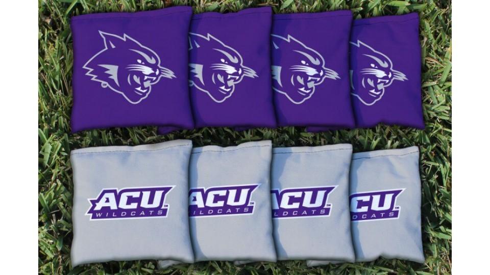 Abilene Christian University Cornhole Bags - set of 8