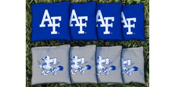 Air Force Academy Cornhole Bags - set of 8