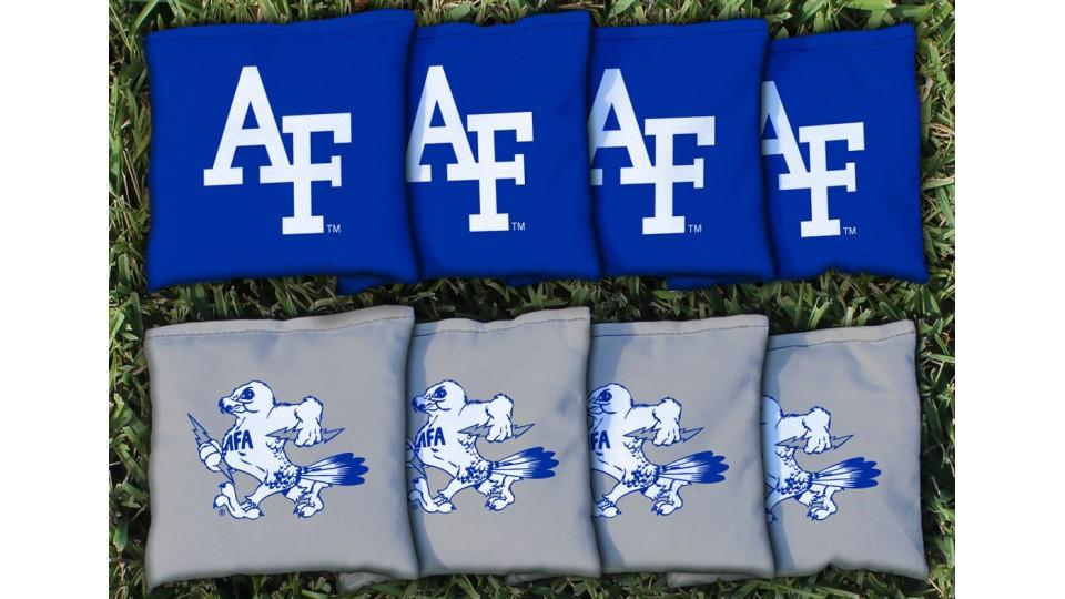 Air Force Academy Cornhole Bags - set of 8