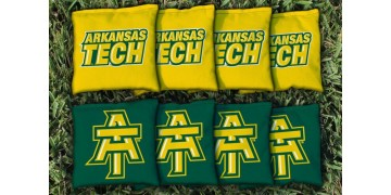 Arkansas Tech Cornhole Bags - set of 8