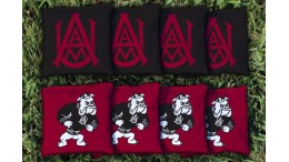 Alabama A&M University Cornhole Bags - set of 8