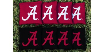 Alabama University of Cornhole Bags - set of 8