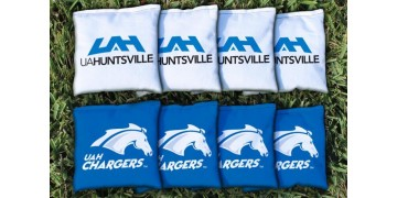 Alabama in Huntsville University of Cornhole Bags - set of 8