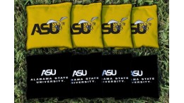 Alabama State University Cornhole Bags - set of 8