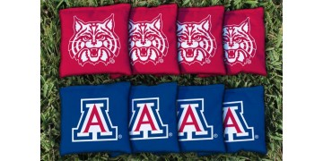 Arizona University of Cornhole Bags - set of 8
