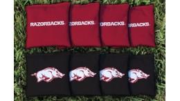 Arkansas University of Cornhole Bags - set of 8