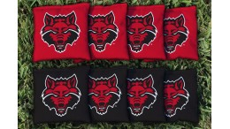 Arkansas State University Cornhole Bags - set of 8