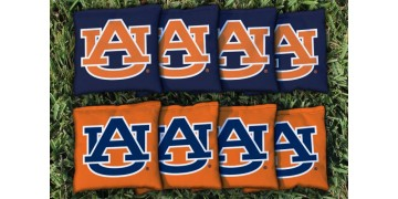 Auburn University Cornhole Bags - set of 8