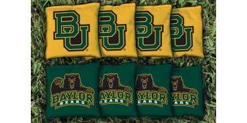 Baylor University Cornhole Bags - set of 8