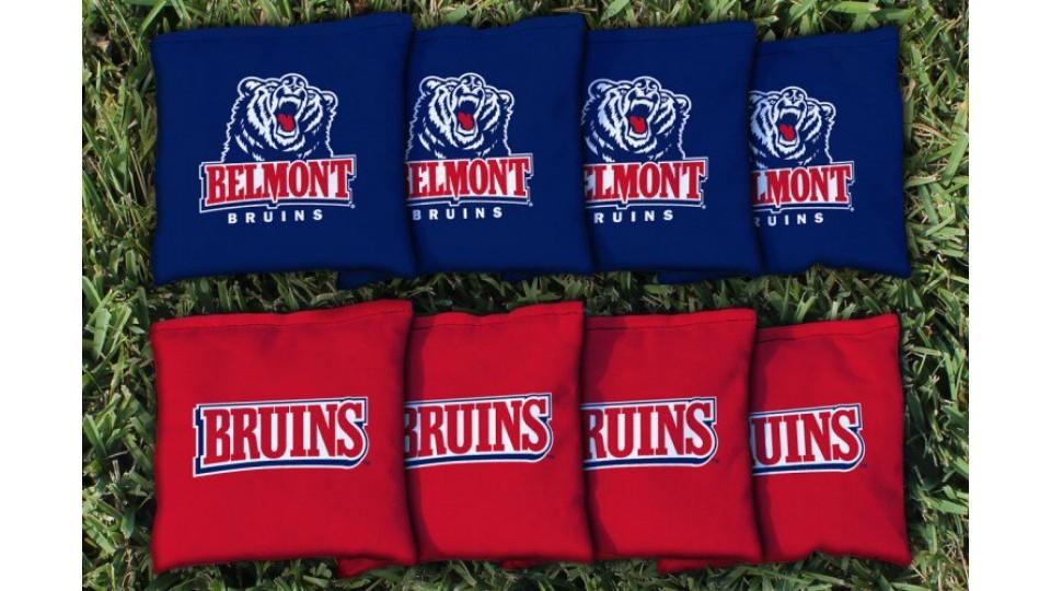 Belmont University Cornhole Bags - set of 8