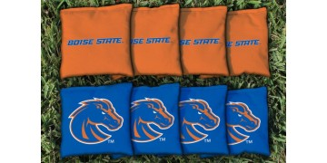 Boise State University Cornhole Bags - set of 8