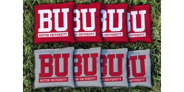 Boston University Cornhole Bags - set of 8