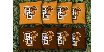 Bowling Green State University Cornhole Bags - set of 8