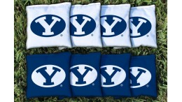Brigham Young University Cornhole Bags - set of 8