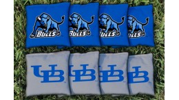 Buffalo University at Cornhole Bags - set of 8
