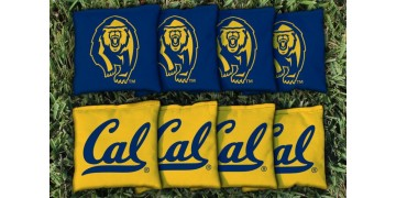 California Berkeley University of Cornhole Bags - set of 8