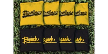 Cal State Long Beach Cornhole Bags - set of 8
