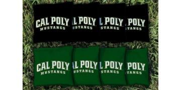 Cal Poly San Luis Obispo Cornhole Bags - set of 8