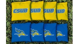 Cal State Bakersfield Cornhole Bags - set of 8