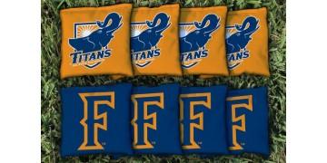Cal State Fullerton Cornhole Bags - set of 8