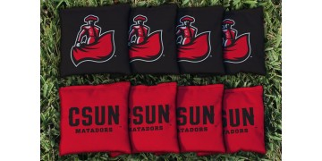 Cal State Northridge Cornhole Bags - set of 8