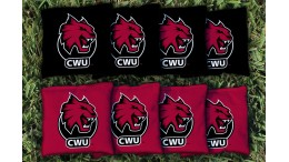 Central Washington University Cornhole Bags - set of 8