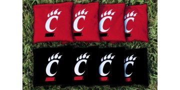 Cincinnati University of Cornhole Bags - set of 8