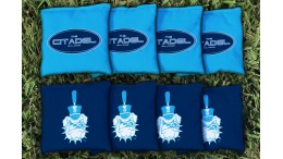 Citadel Military College of South Carolina Cornhole Bags - set of 8