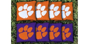 Clemson University Cornhole Bags - set of 8