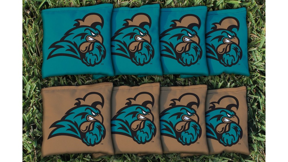 Coastal carolina university cornhole bags set of 8 sciox Gallery