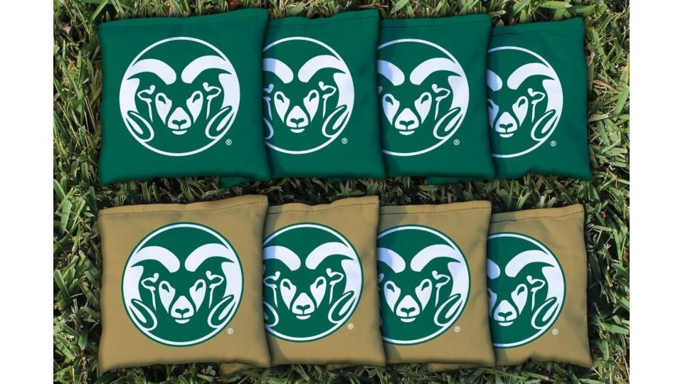 Colorado State University Cornhole Bags - set of 8