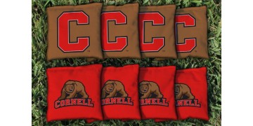 Cornell University Cornhole Bags - set of 8