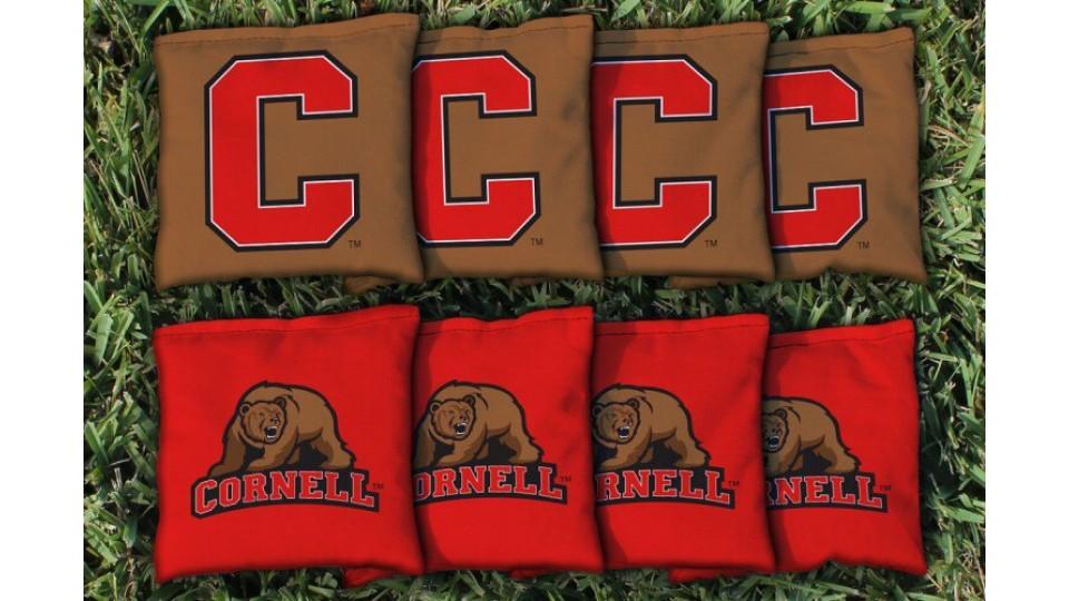 Cornell University Cornhole Bags - set of 8