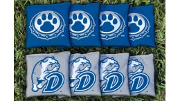 Drake University Cornhole Bags - set of 8