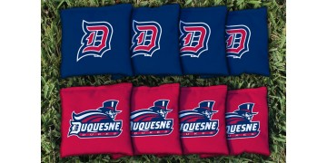 Duquesne University Cornhole Bags - set of 8