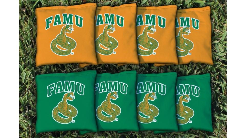 Florida A&M University Cornhole Bags - set of 8
