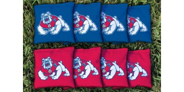 Fresno State University Cornhole Bags - set of 8