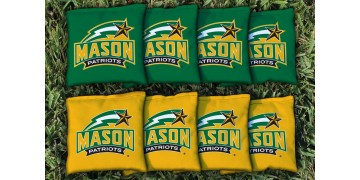 George Mason University Cornhole Bags - set of 8