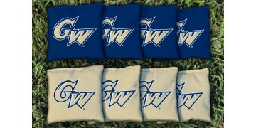 George Washington University Cornhole Bags - set of 8