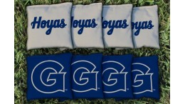 Georgetown University Cornhole Bags - set of 8