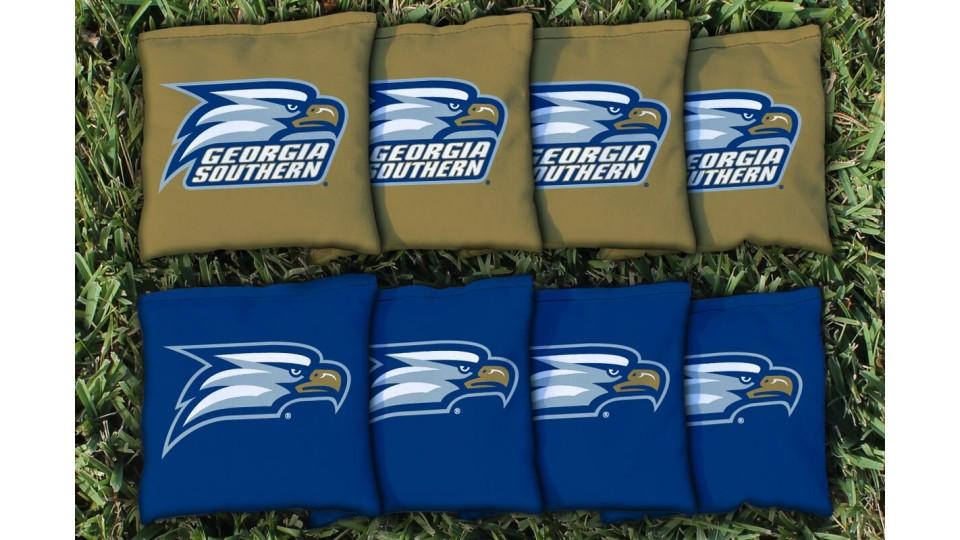 Georgia Southern University Cornhole Bags - set of 8