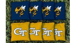 Georgia Tech University Cornhole Bags - set of 8