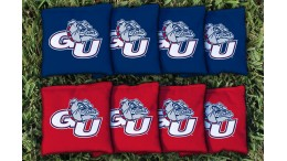 Gonzaga University Cornhole Bags - set of 8